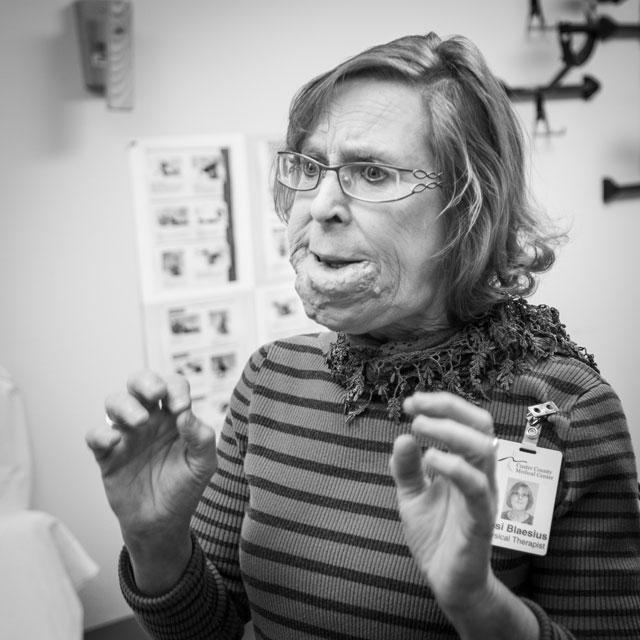 Rosi Blaesius, Physical Therapist