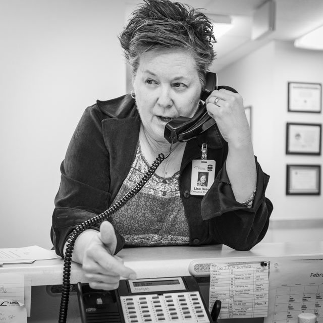 Lisa Drew, West Custer County Hospital Executive Director