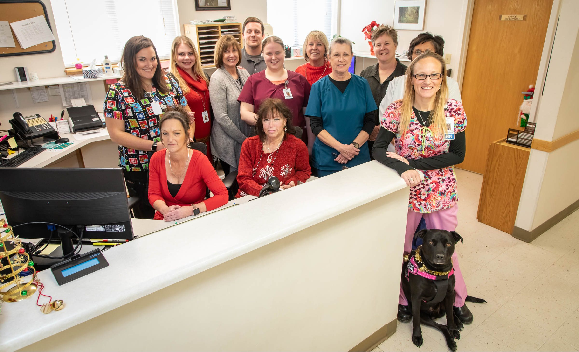 Staff photo of Custer County Clinic staff ©2019 Greg Smith; imediaSmith.com